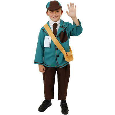 Boys 1940s Costume World War 2 Wartime Child 1930s Fancy Dress Ww2 Outfit • 12.99£