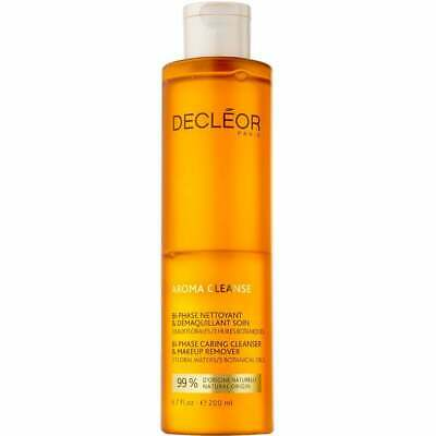 Decleor Aroma Cleanse Bi-phase Caring Cleanser And Makeup Remover 200ml Free P&p • 17.99£