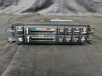 $47.95 • Buy 00-05 Buick LeSabre A/C Heater Climate Control Panel OEM 09383334 2000-2005