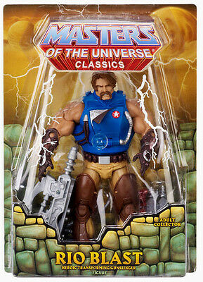$43.99 • Buy MASTERS OF THE UNIVERSE Classics__RIO BLAST Figure_Exclusive Limited Edition_MIB