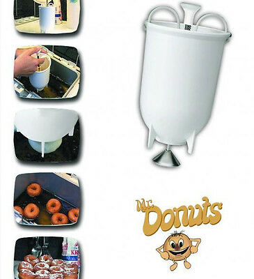 £14.37 • Buy Mr Donuts Donut Maker Machine Manual Kitchen Tool And Gadget
