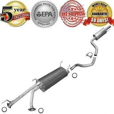 $286.60 • Buy Resonator Muffler Pipe Exhaust System Kit Fits: Toyota Sequoia 4.7L 2001-2007