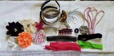 $15.99 • Buy Lot Of Miscellaneous Hair Accessories