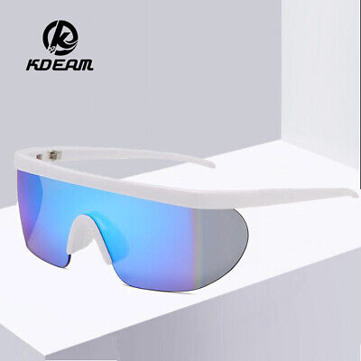 AU16.42 • Buy KDEAM Men Large Frame Sunglasses Women Outdoor Fishing Riding Windproof Glasses