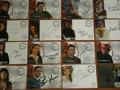 $ CDN35.26 • Buy CHARMED The Original Series Autograph / Relic / Foil Chase / Promo Trading Cards