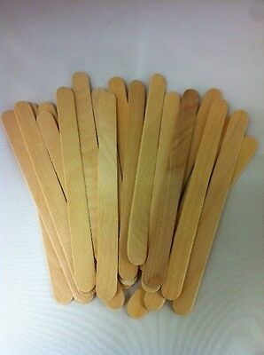 Lot Of 50 Pcs Wood Craft Popsicle Sticks 4 1/2 X 3/8″ - Great For Craft Projects • 4.04$