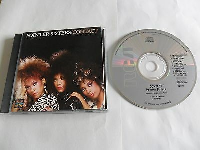 POINTER SISTERS - Contact (CD 1985) JAPAN Pressing • 16£
