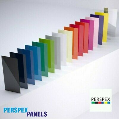 £5.40 • Buy A4 Perspex Altuglas Colour Acrylic Panels - 3mm Thick Cut To Size Plastic Sheets