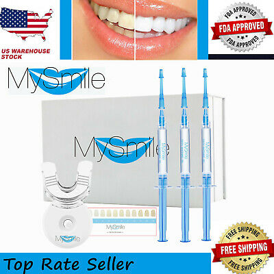 $ CDN44.95 • Buy Non Sensitive MySmile Teeth Whitening Kit Bleaching Gel Best Home HISMILE System