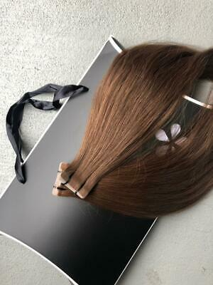 Russian Natural Slavic Hair Tape-in Extensions 16 Inch • 75.62£