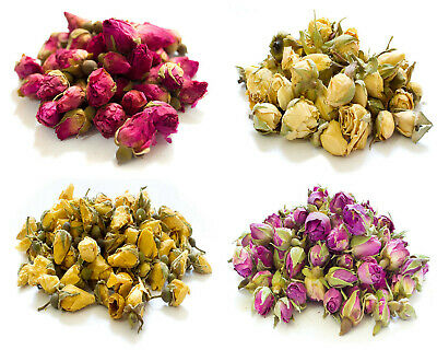 £2.36 • Buy Dried Rose Buds, Dried Rose Petals, Pink Yellow Soap Craft Confetti Potpourri