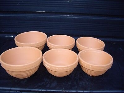 Clay Canary Nest Pans • 1.50£