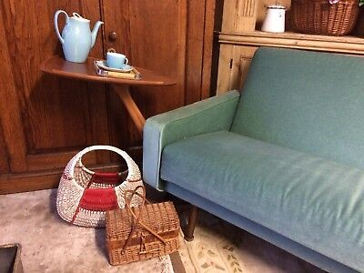 £75 • Buy 1950's Retro Teak Bed Table / Sofa Table Bedside Table