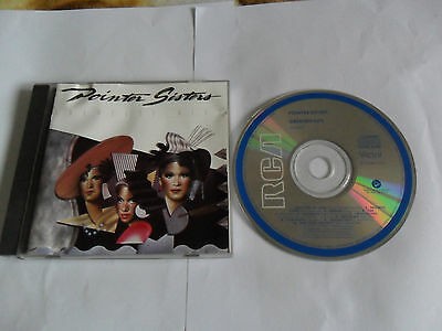 POINTER SISTERS - Greatest Hits (CD 1989) AUSTRALIA Pressing • 7£