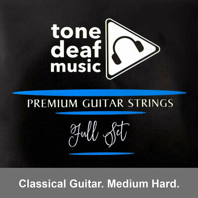 $ CDN10.88 • Buy CLASSICAL GUITAR STRINGS MEDIUM TENSON Gauges 026 045 Nylon Silver Acoustic