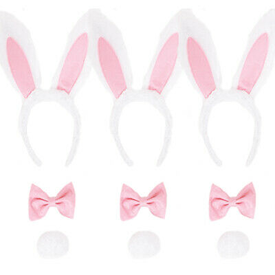 £6.99 • Buy Woman's/girls Easter Bunny Pink And White Set Hen Night Party Bargain Lot