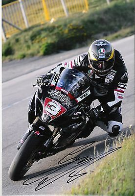 Guy Martin Signed 2011 Isle Of Man TT 16 X 12 Picture & We Can Show You Proof • 39.99£
