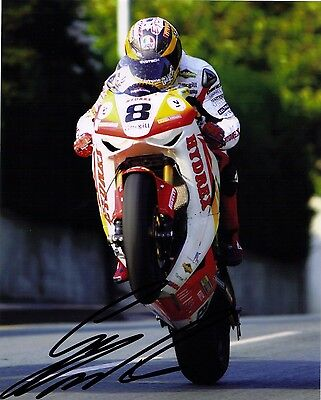 Guy Martin Signed 2009 Isle Of Man TT 16 X 12 Picture & We Can Show You Proof • 39.99£