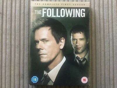 £2.95 • Buy The Following - The Complete First Season Dvd Series 1 Kevin Bacon