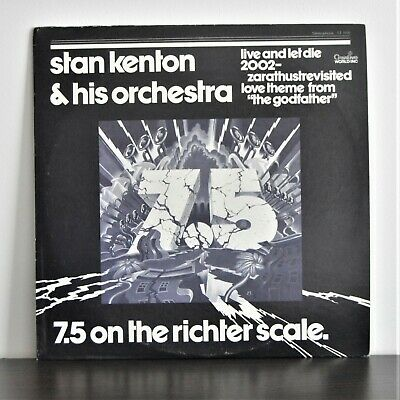 STAN KENTON & HIS ORCHESTRA 7.5 On The Richter Scale US BIG BAND FUNK LP '73 • 3£