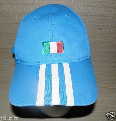 Adidas Fifa World Cup 2006 Germany Soccer Flag Colors Blue Cap Hat Adjustable • 32.07£