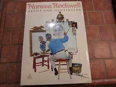$ CDN79.03 • Buy Vintage 1970 Norman Rockwell Coffee Table Book Huge Like New Abrams HC DJ