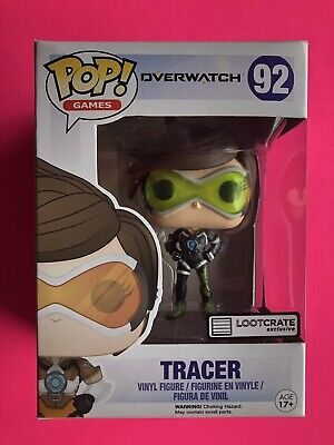 AU76 • Buy Overwatch Funko Pop Vinyl Sporty Tracer Lootcrate Loot Crate Loot Gaming  92
