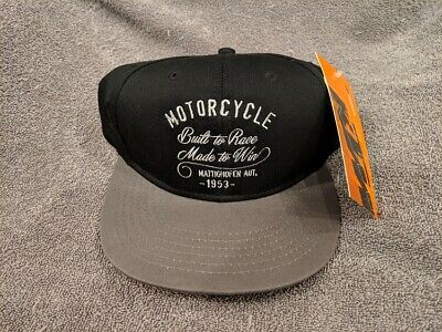 f7d74c806fc91 New Ktm Power Wear Hat - Built To Race - Made To Win Austria 1953 Black