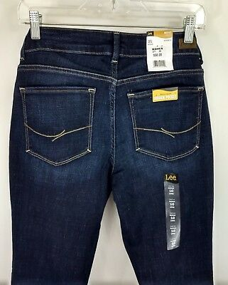 c3923ec9 Lee Midrise Bootcut Womens Jeans No-gap Waistband Sz 12S 14S 18M Curvy  Stretch •