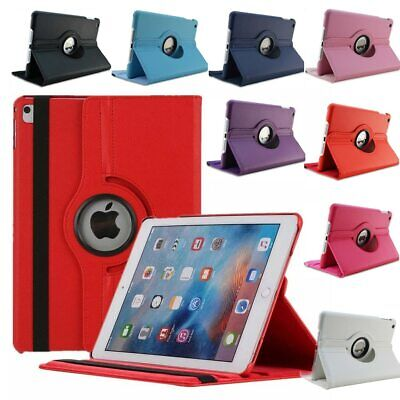 AU12.99 • Buy 360 Rotate Leather Case Cover For Apple IPad 2 3 4 5 6 7 8 10.2 Air Mini Pro 11
