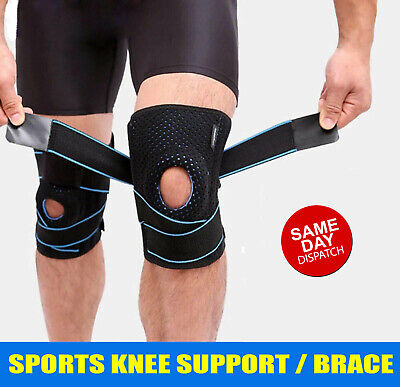 AU19.99 • Buy Gel Silicone Compression Knee Support Brace Arthritis Pad Pain Relief Strap