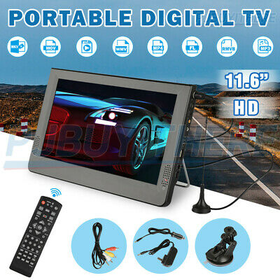AU124.99 • Buy Digital Television Car Portable HD TV 1080P TFT LED DVB-T2 12V Player MP4 MP3
