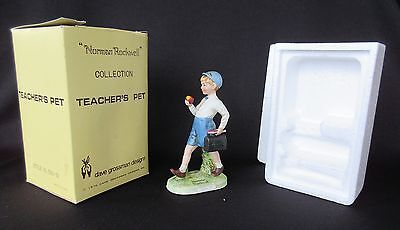 $ CDN19.31 • Buy Norman Rockwell 'Teacher's Pet' By Dave Grossman 1979 Figurine In Original Box