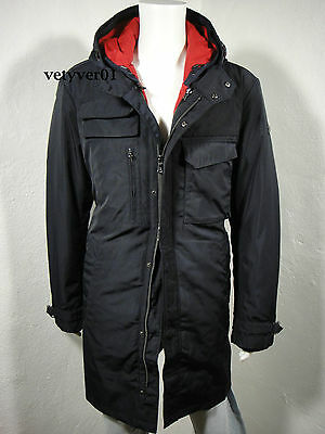 $424.95 • Buy VICTORINOX Swiss Army 3N1 Military M51 Hooded Parka Removable Liner Navy Size XL