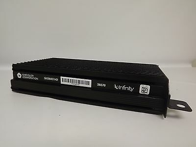$85 • Buy 1999-2002 Jeep Grand Cherokee Infinity Amplifier Chrysler Amp - Part 56038407AD
