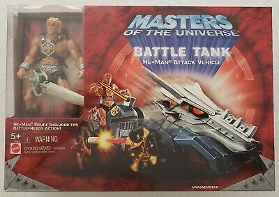 $79.99 • Buy Masters Of The Universe Battle Tank + Exclusive Maltese Cross Version He-man