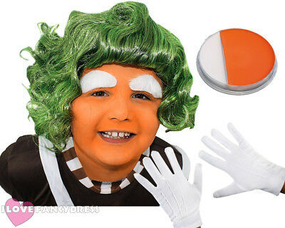 £4.99 • Buy Child's Factory Worker Wig Book Week Day Character Fancy Dress Costume Accessory