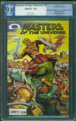 $199.99 • Buy Masters Of The Universe 1 PGX 9.9 Earl Norem Conan Art Gold Foil Wrap Up CGC 9.8