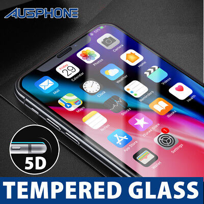 AU7.95 • Buy For Apple IPhone 8 7 Plus 5D Full Coverage Tempered Glass Film Screen Protector