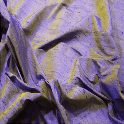 £26.39 • Buy 100% Silk Dupion Fabric - Handloom Made In India - Sold By The Metre 80 Colours!