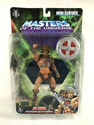$189 • Buy Masters Of The Universe 200x NECA He-Man Mini Statue Staction MOTU Exclusive MOC