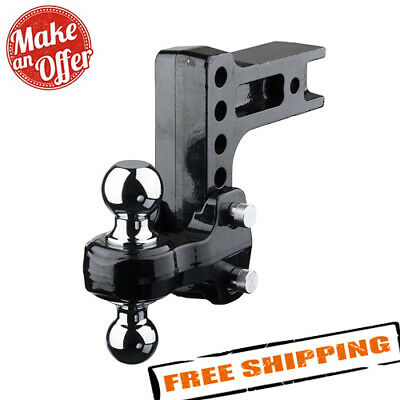 $199.95 • Buy Fastway 49-00-5625 Solid Steel HD Adjustable 2-Ball Mount - 2.5  Hitch Receiver