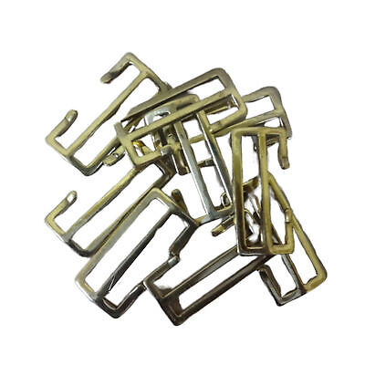 WWII WWI Brass Buckles For P08 1908 P37 Webbing Sets (2 Inch) Set Of 20 G270 • 33.59£