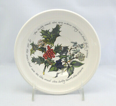 Portmeirion THE HOLLY & THE IVY 6 3/4  Cereal Bowl - Anwyl Cooper-Willis Design • 11.99$