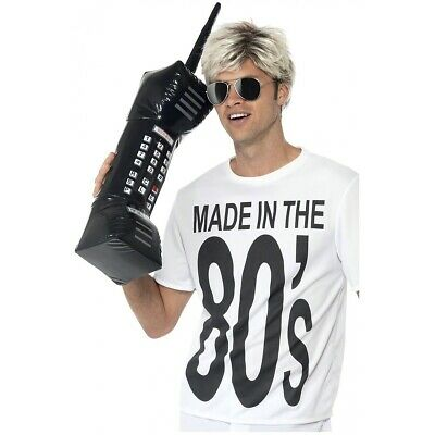AU12.89 • Buy Inflatable Brick Cell Phone Funny Adult 80s Costume Accessory Fancy Dress
