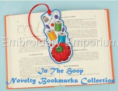 In The Hoop Novelty Bookmark Collection - Machine Embroidery Designs On Cd/usb • 18.90£