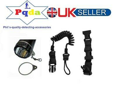 Metal Detecting,1 X Security Attachment & Coiled Lanyard For Pinpoint Probe. NEW • 15.99£