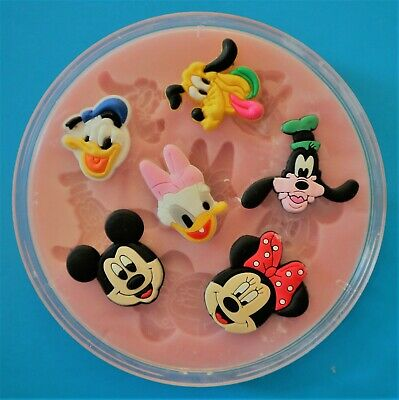 Disney Classics 002 Silicone Mould For Cake Toppers, Chocolate, Clay Etc • 6.50£