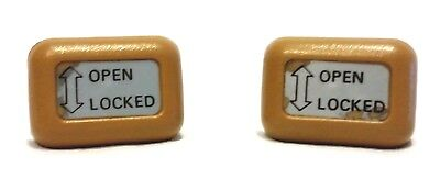 $25 • Buy Datsun 280-zx T-top Knob Roof Locks Release Button Tan Oem 1978 - 1983
