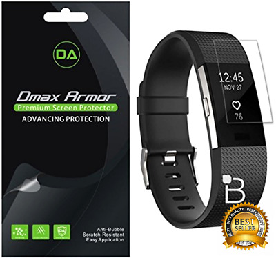 AU15.53 • Buy Fitbit Charge 2 Screen Protector 6 Pack Hr Blaze Bands Clear Glass Shield Cover